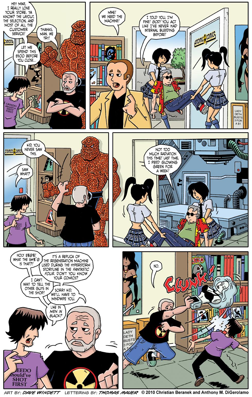 Comic Book Mafia: Atomic Comics Safehouse