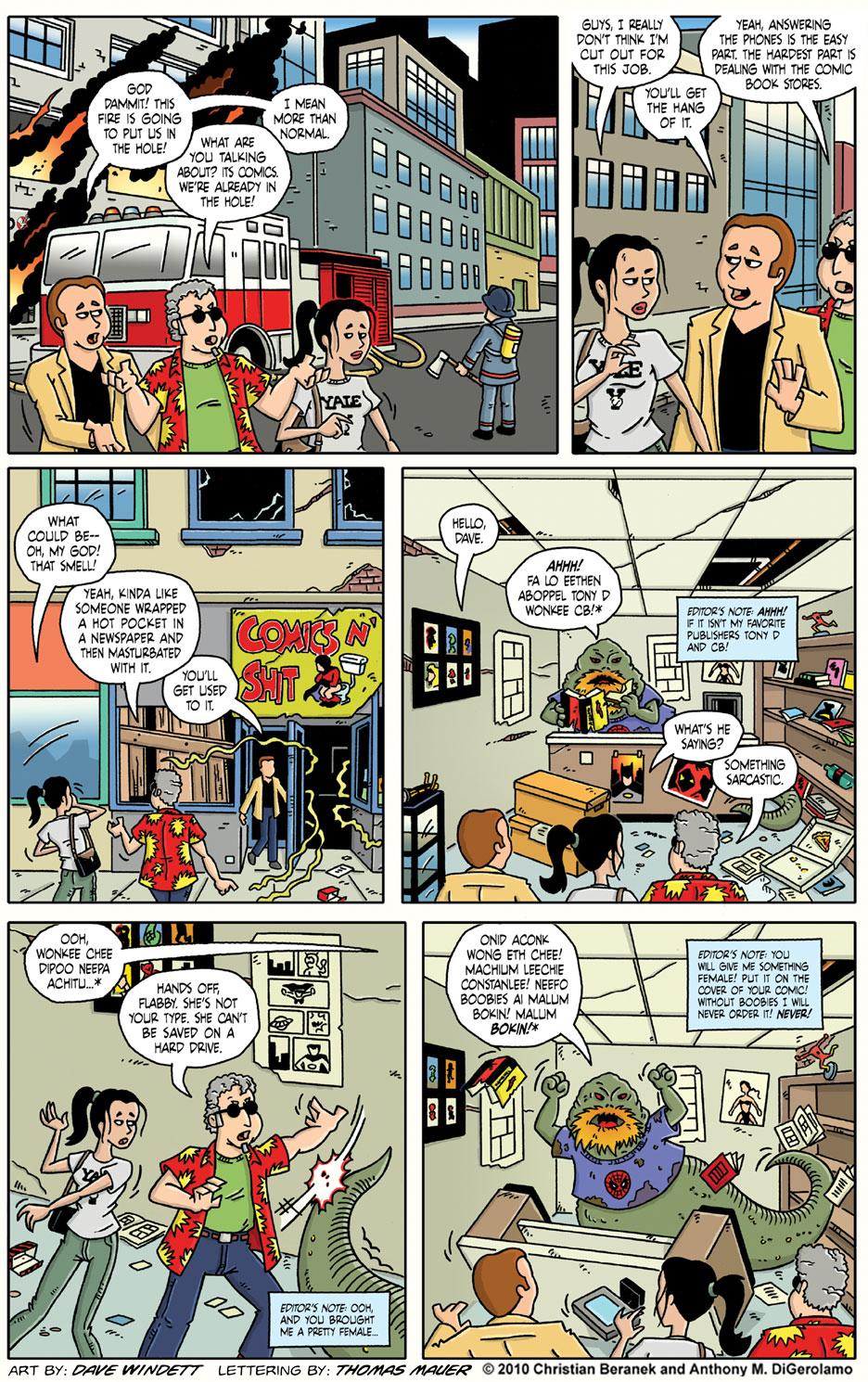 Comic Book Mafia #6: The Smell of Comics