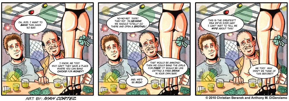Gentlemen's Club #7: The Plans of Drunken Mice and Men