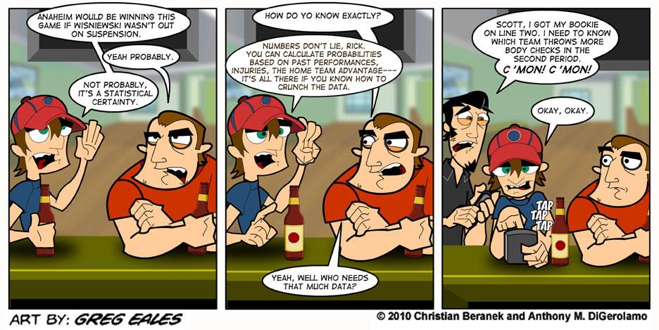 Sports Guys #8: Stat Fanatic