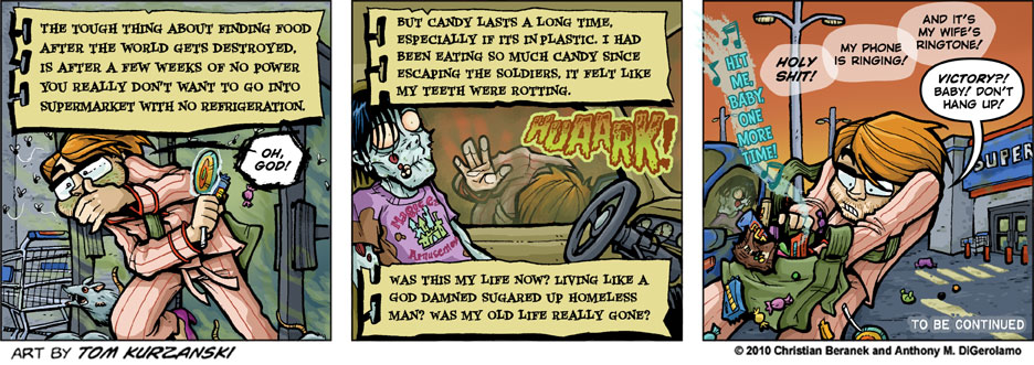 Post Apocalpytic Nick #14: Candy is Dandy in Doses