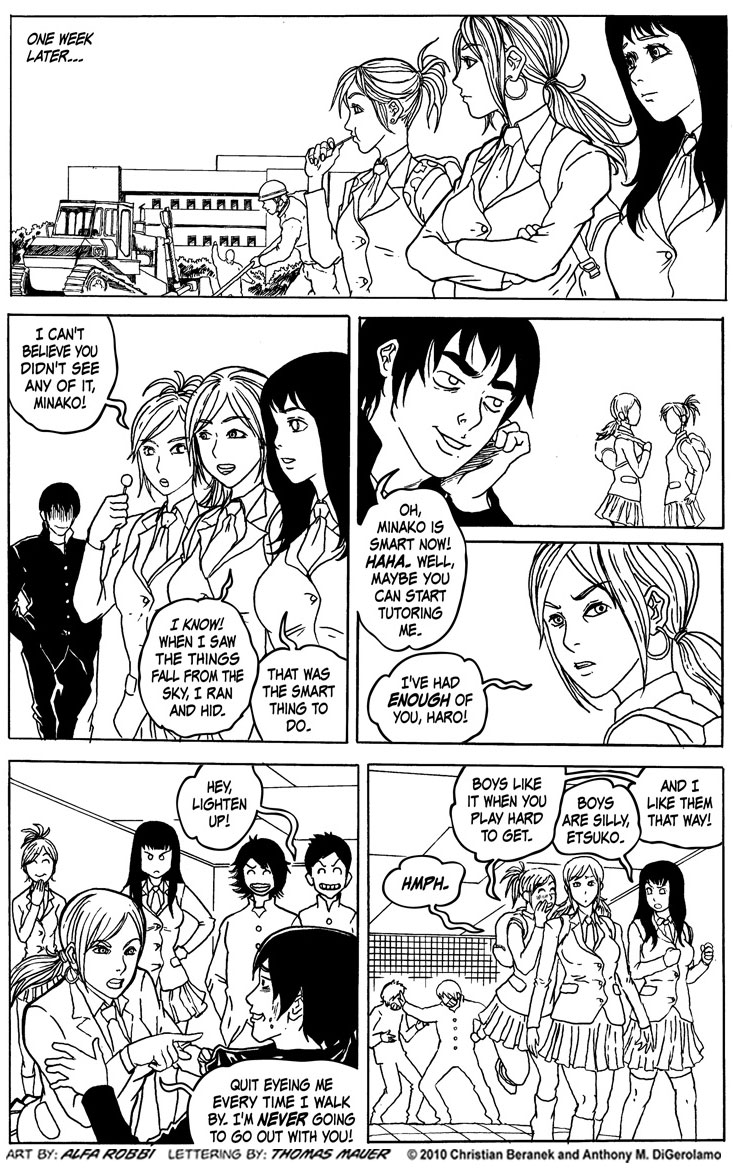 Japanese Schoolgirls in Love #31