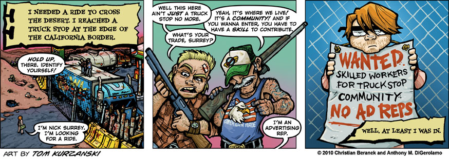 Post Apocalyptic Nick #16: Ad Reps, You Only Need One