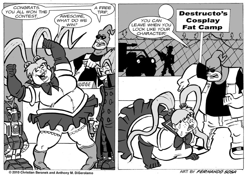 Tony Destructo #22:  Cosplay Justice