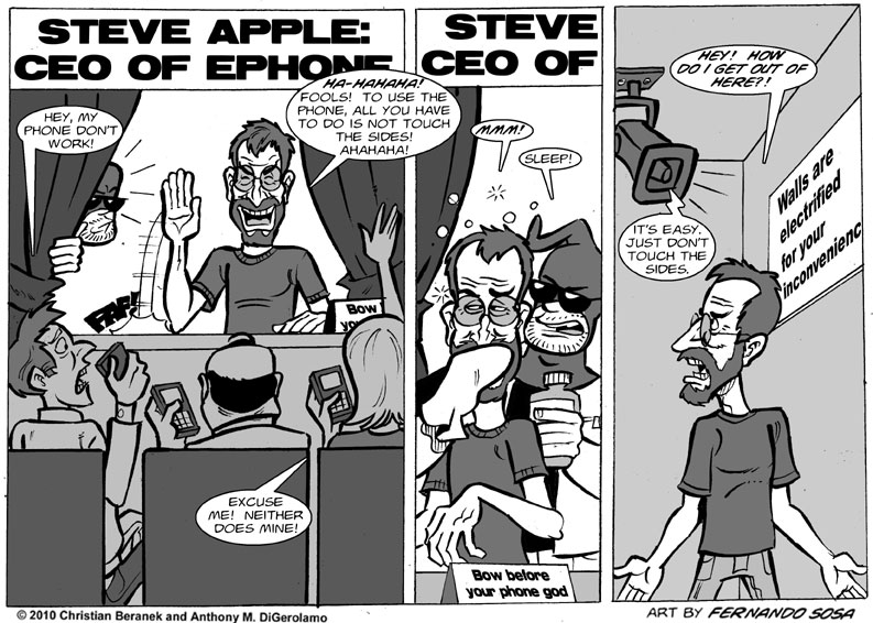 Tony Destructo #23: The Phone God Has No Clothes
