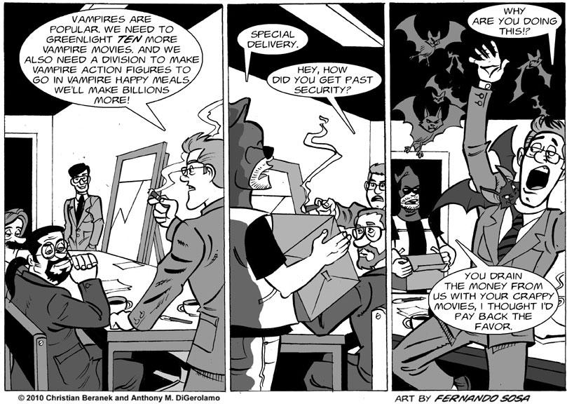 Tony Destructo #24: Destructo vs. Hollywood Vampires