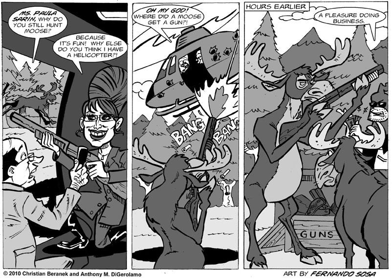 Tony Destructo #27: The Supplier