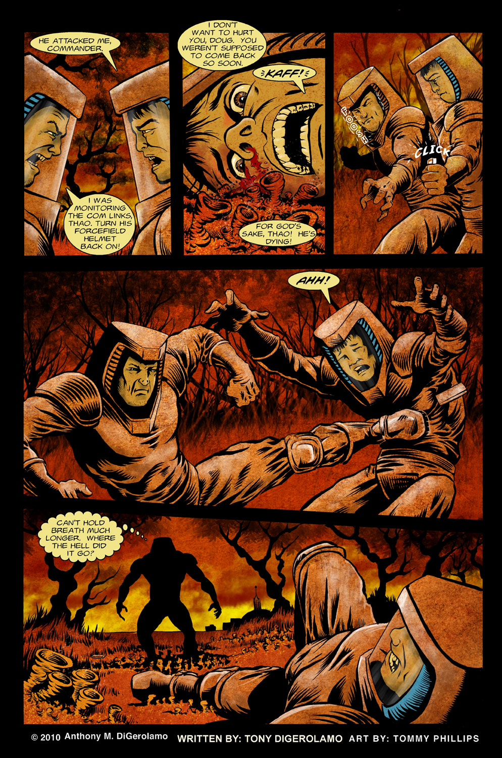 The Horror of Colony 6, Page 4