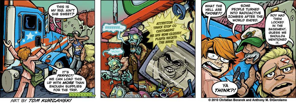 Post Apocalyptic Nick #23: Radioactive Customers