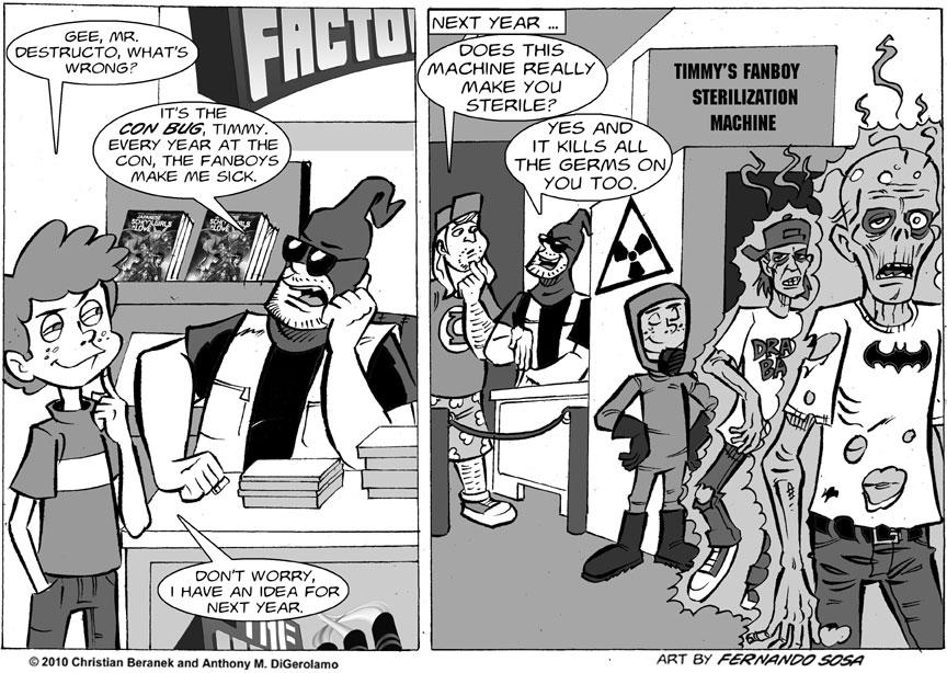 Tony Destructo: The Con Bug