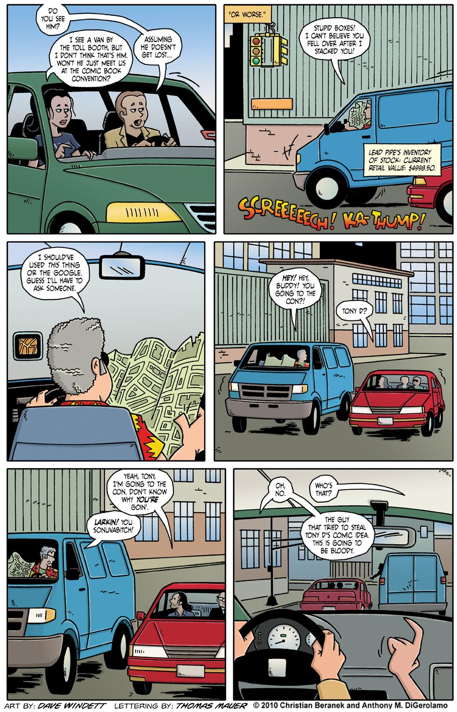 Comic Book Mafia: A Chance Meeting