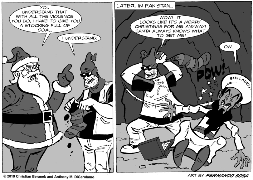 Tony Destructo #35:  Santa Always Knows