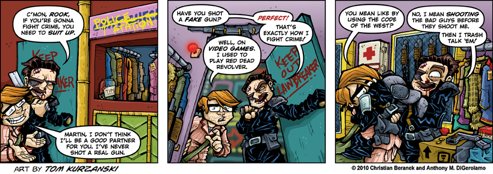 Post Apocalyptic Nick #30: Coat Check Cops