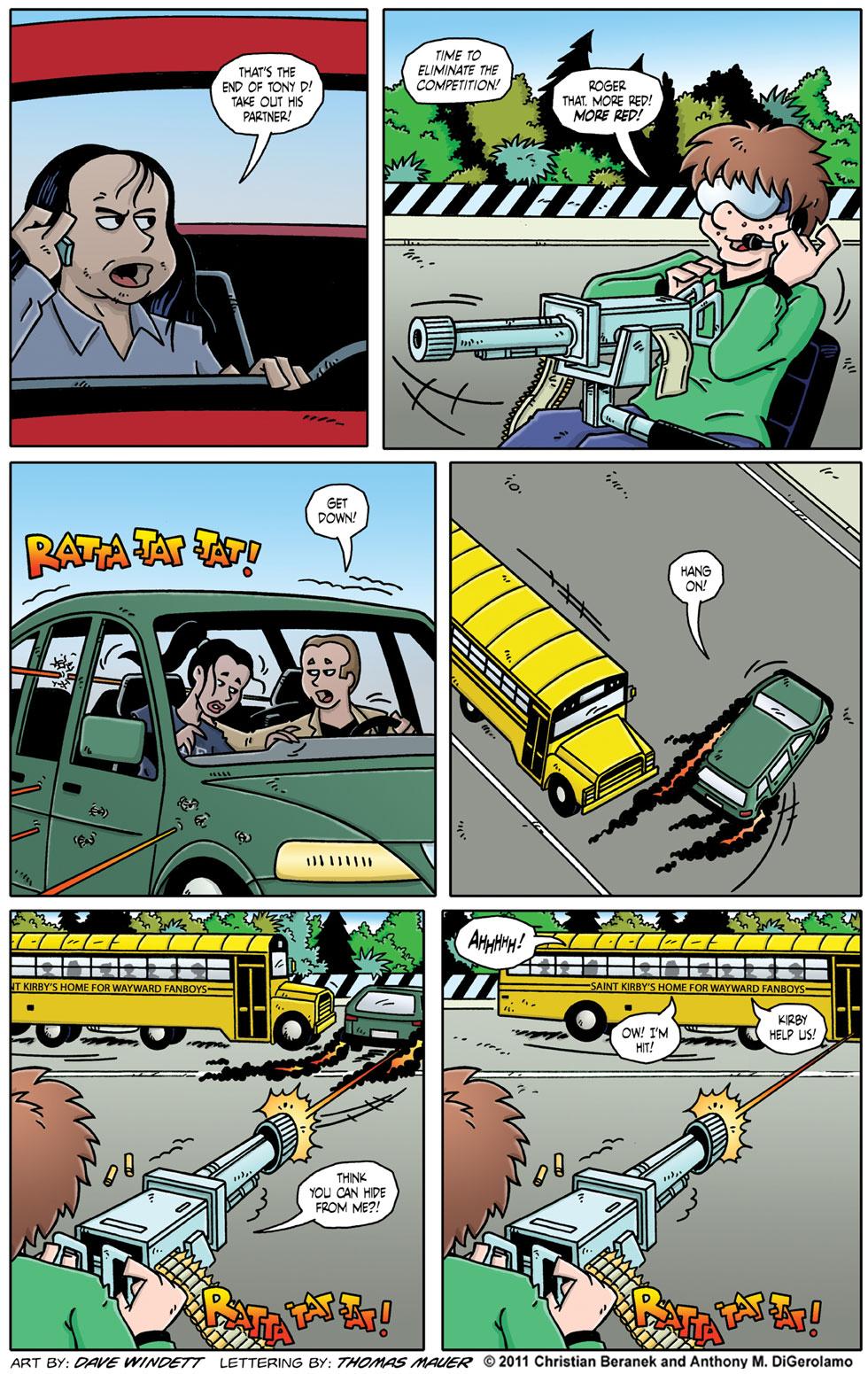 Comic Book Mafia: Saint Kirby's Home for Wayward Fanboys