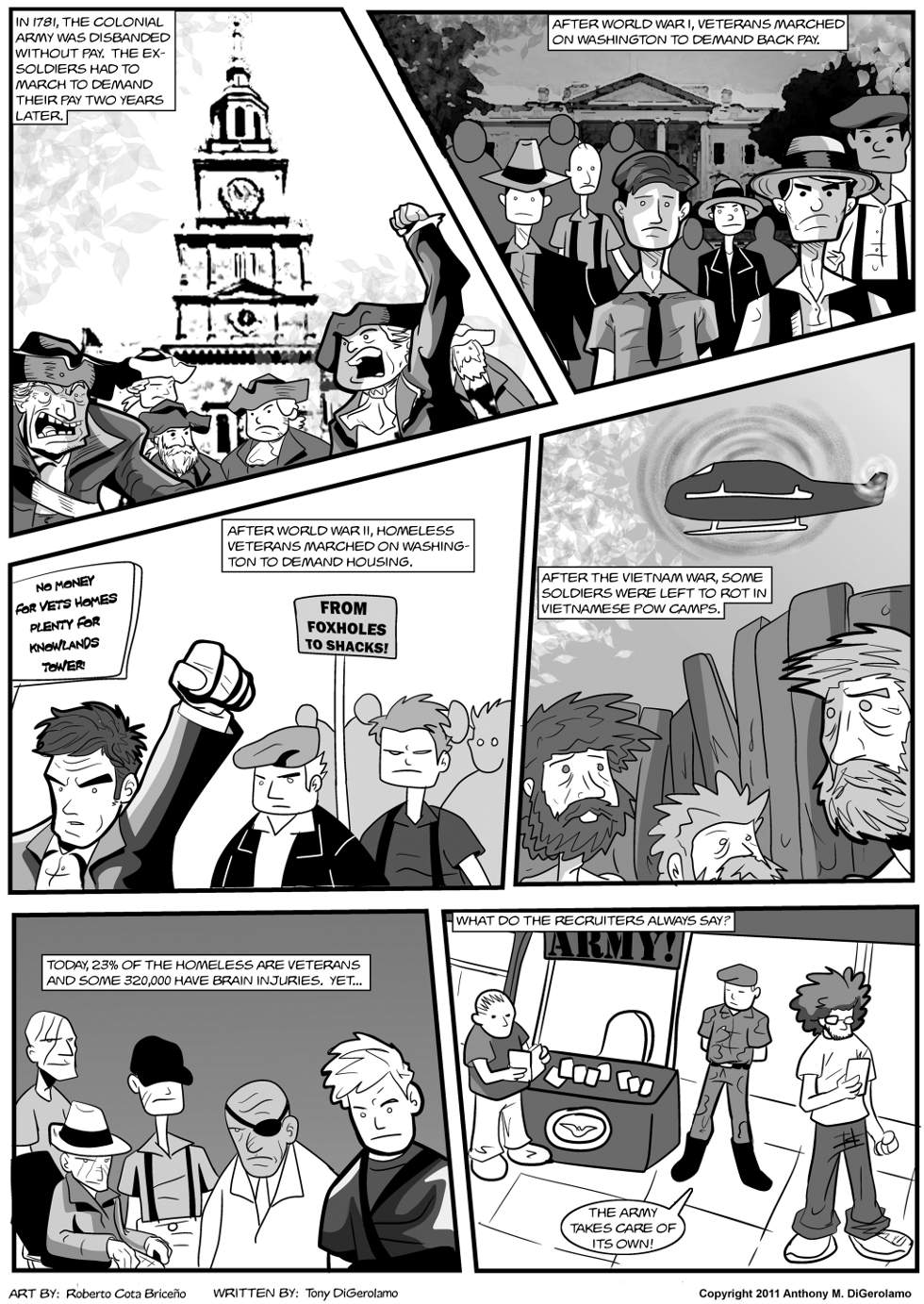 The Antiwar Comic:  How Many Times?