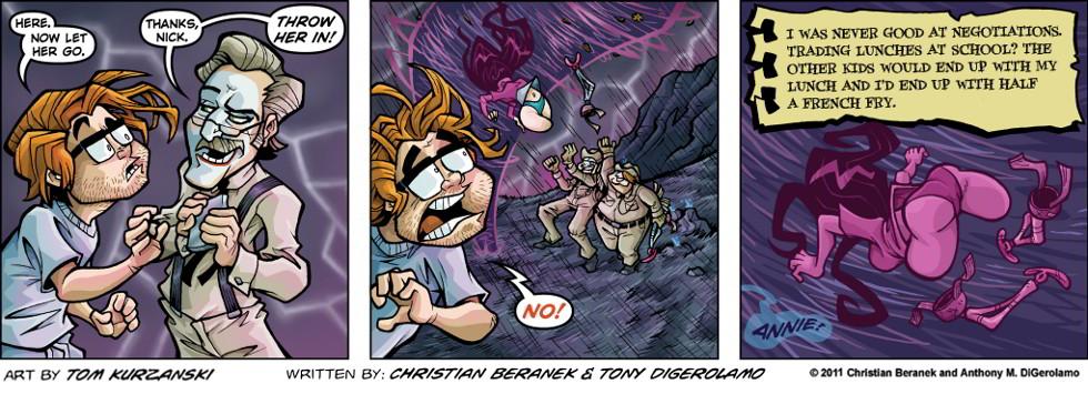 Post Apocalyptic Nick:  Bad Negotiator