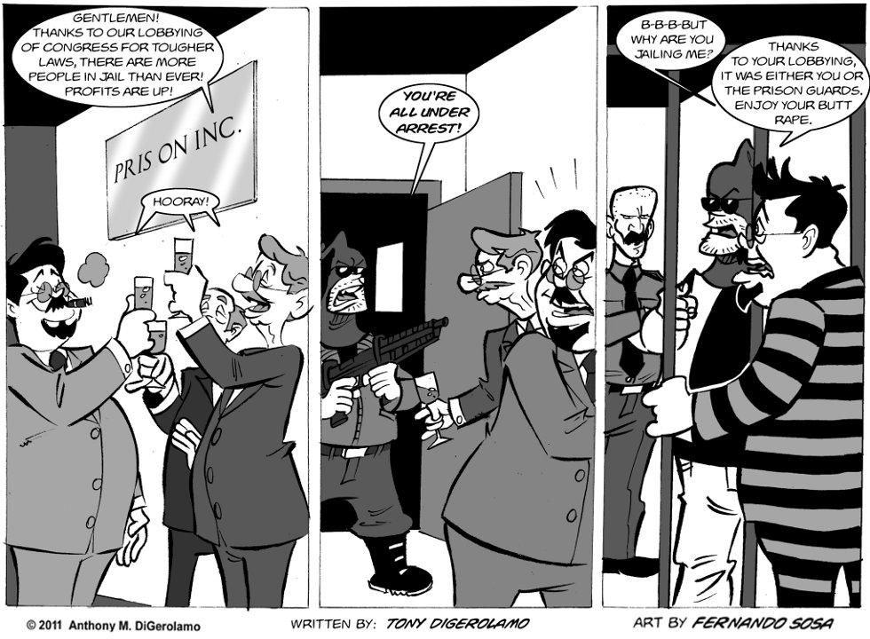 Tony Destructo: Prison Inc.
