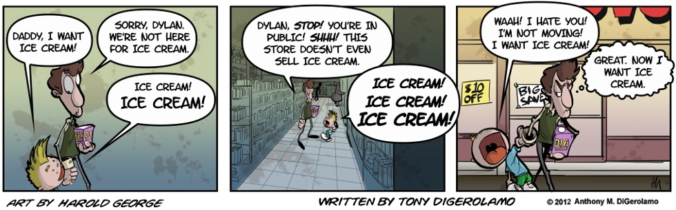 I Hate My Kids:  Ice Cream