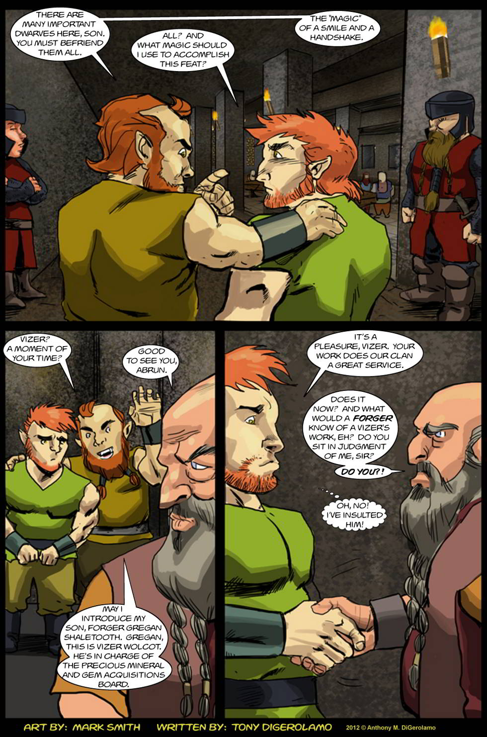 Kingdom of the Dwarves:  Dwarven Networking
