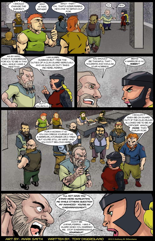 Kingdom of the Dwarves:  The Warrior's Husband
