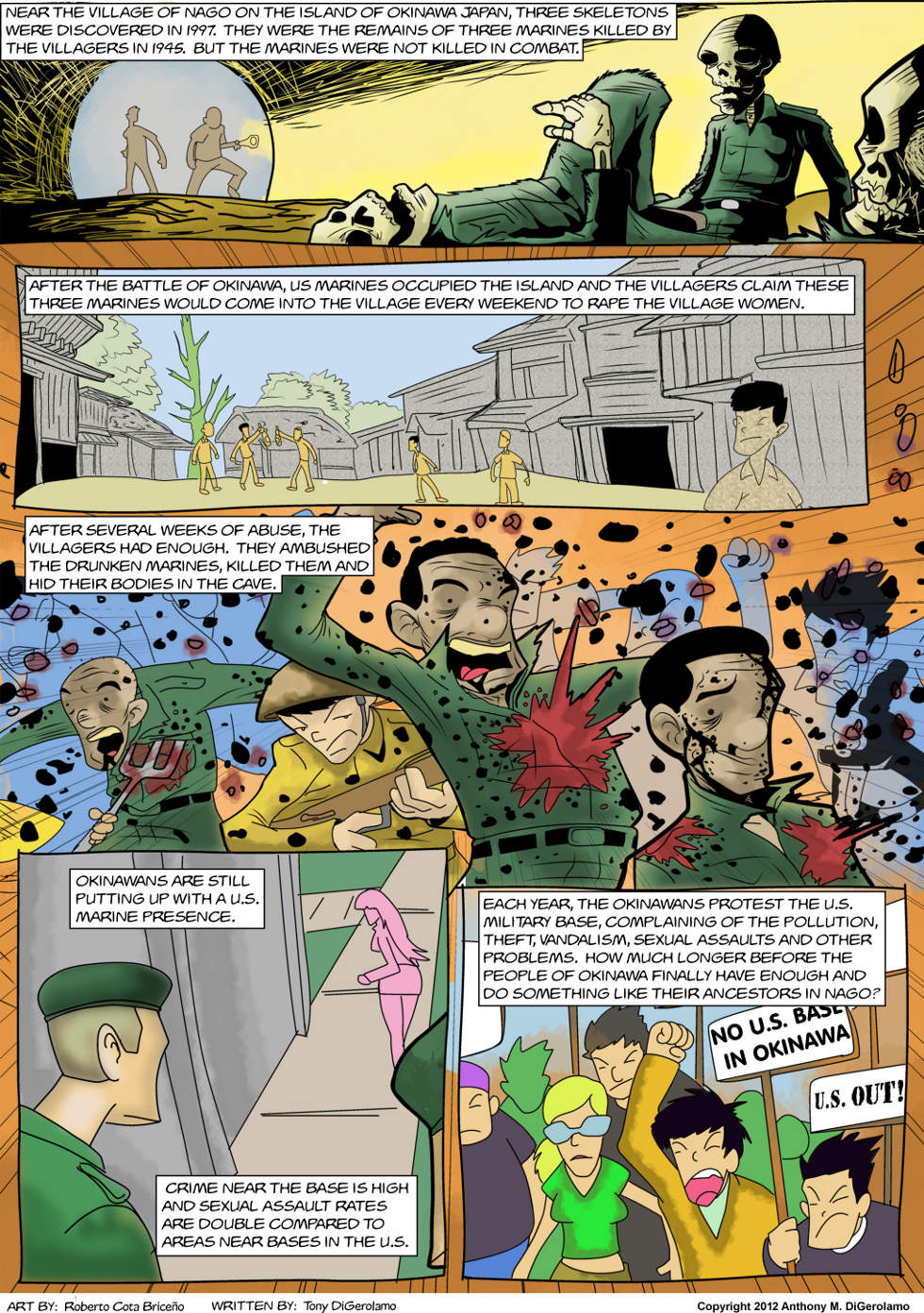 The Antiwar Comic:  The Price of Occupiers
