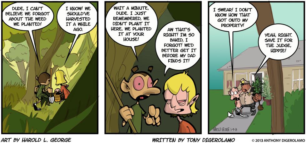 I Hate My Kids:  Weeding the Garden