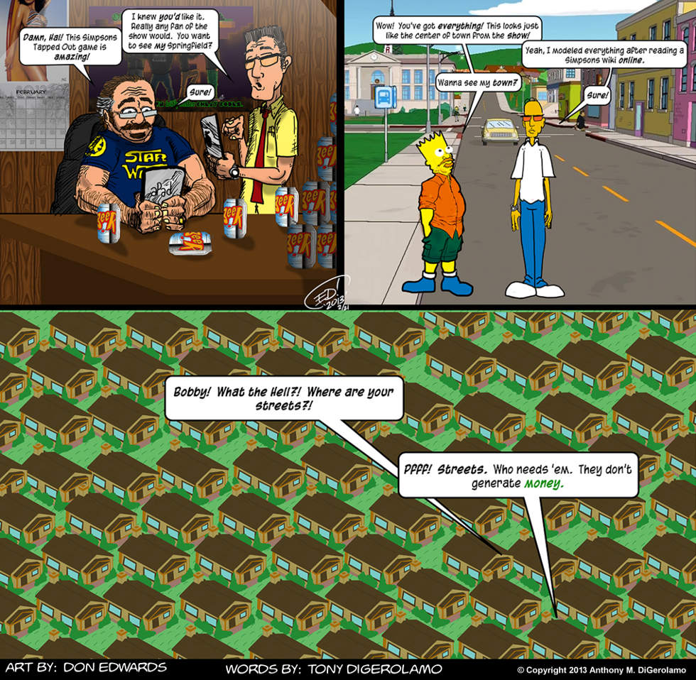 Olde Tyme Gamer: The Streets of Springfield