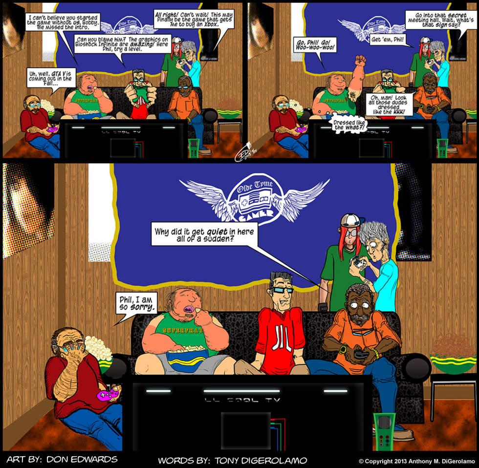 Olde Tyme Gamer: The BioShocker