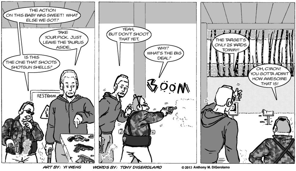 Gun Culture:  Going the Short Distance