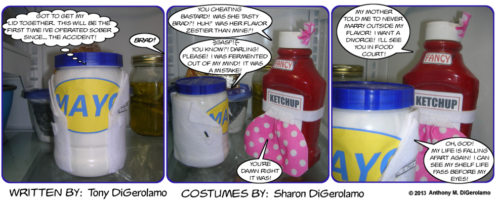 As the Mayo Turns:  A Ketchup Scorned