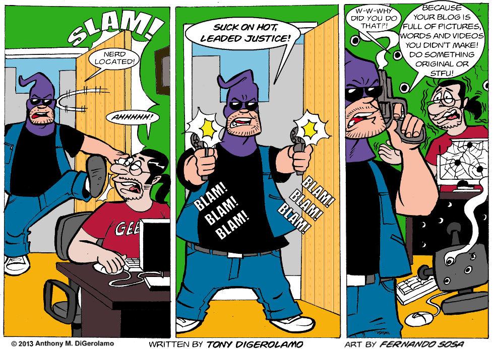 Tony Destructo:  Editing the Internet