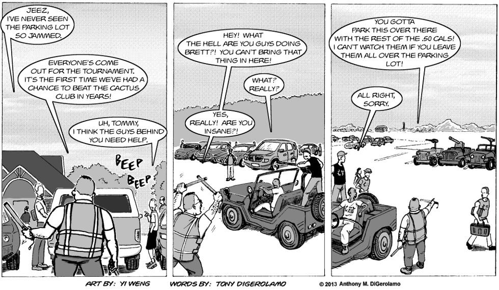 Gun Culture:  Park Job