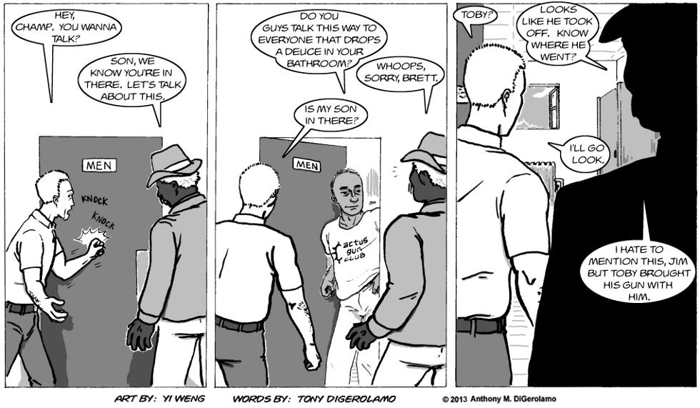 Gun Culture:  Wrong Door