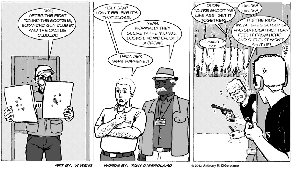 Gun Culture:  One Bullet Behind