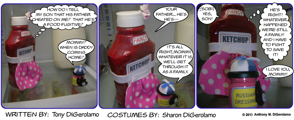 As the Mayo Turns:  Condiments Are Thicker Than Water