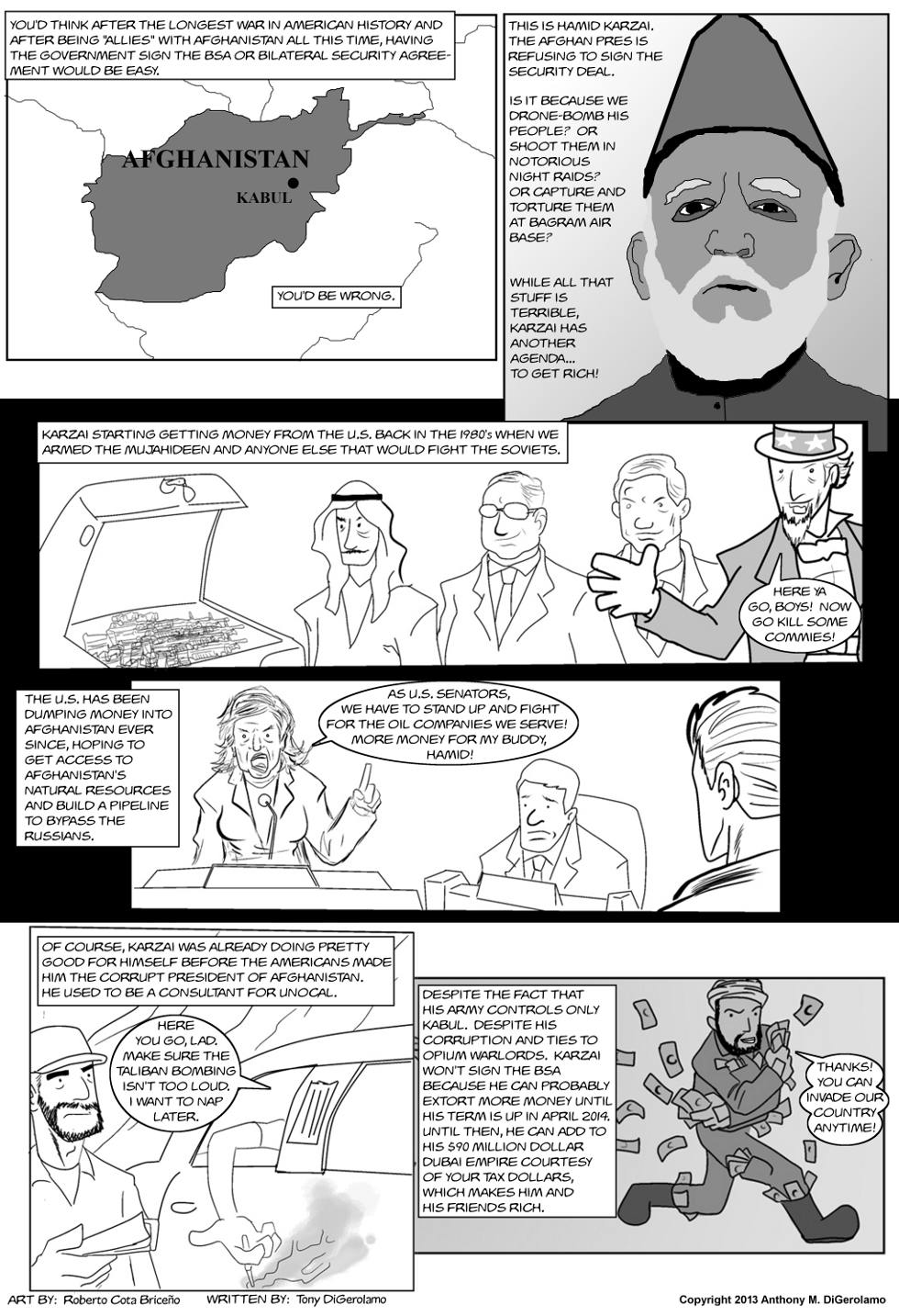 The Antiwar Comic:  The Mayor of Kabul