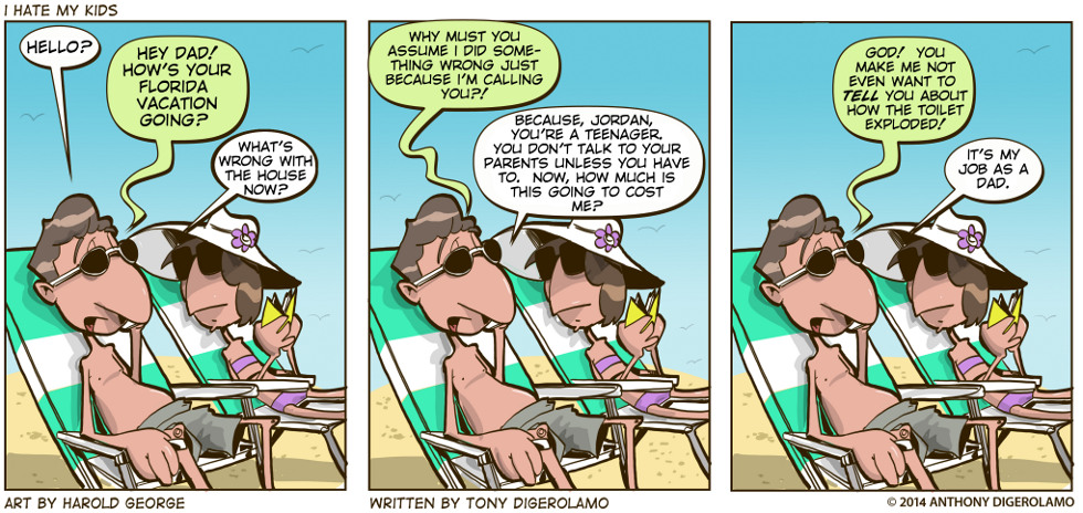 I Hate My Kids:  Vacation Collateral