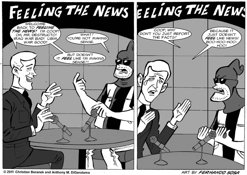 Tony Destructo:  Feelin' the News
