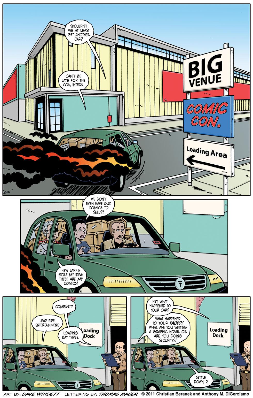 Comic Book Mafia #51:  Arriving at Con