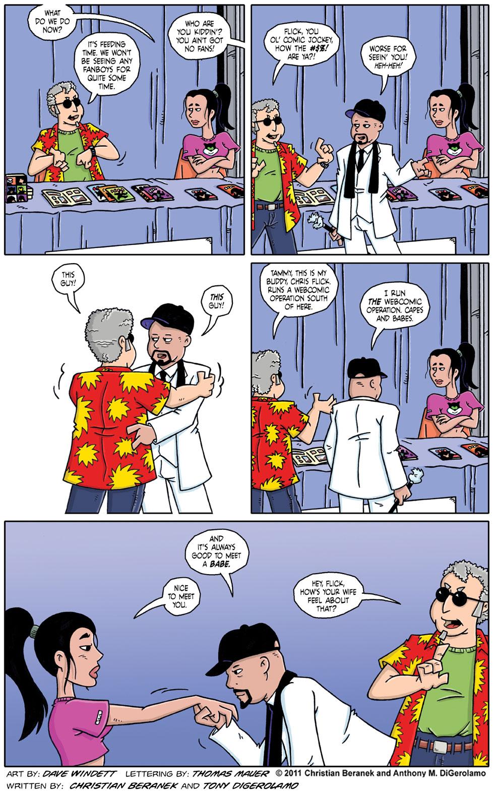 Comic Book Mafia #56:  Chris Flick