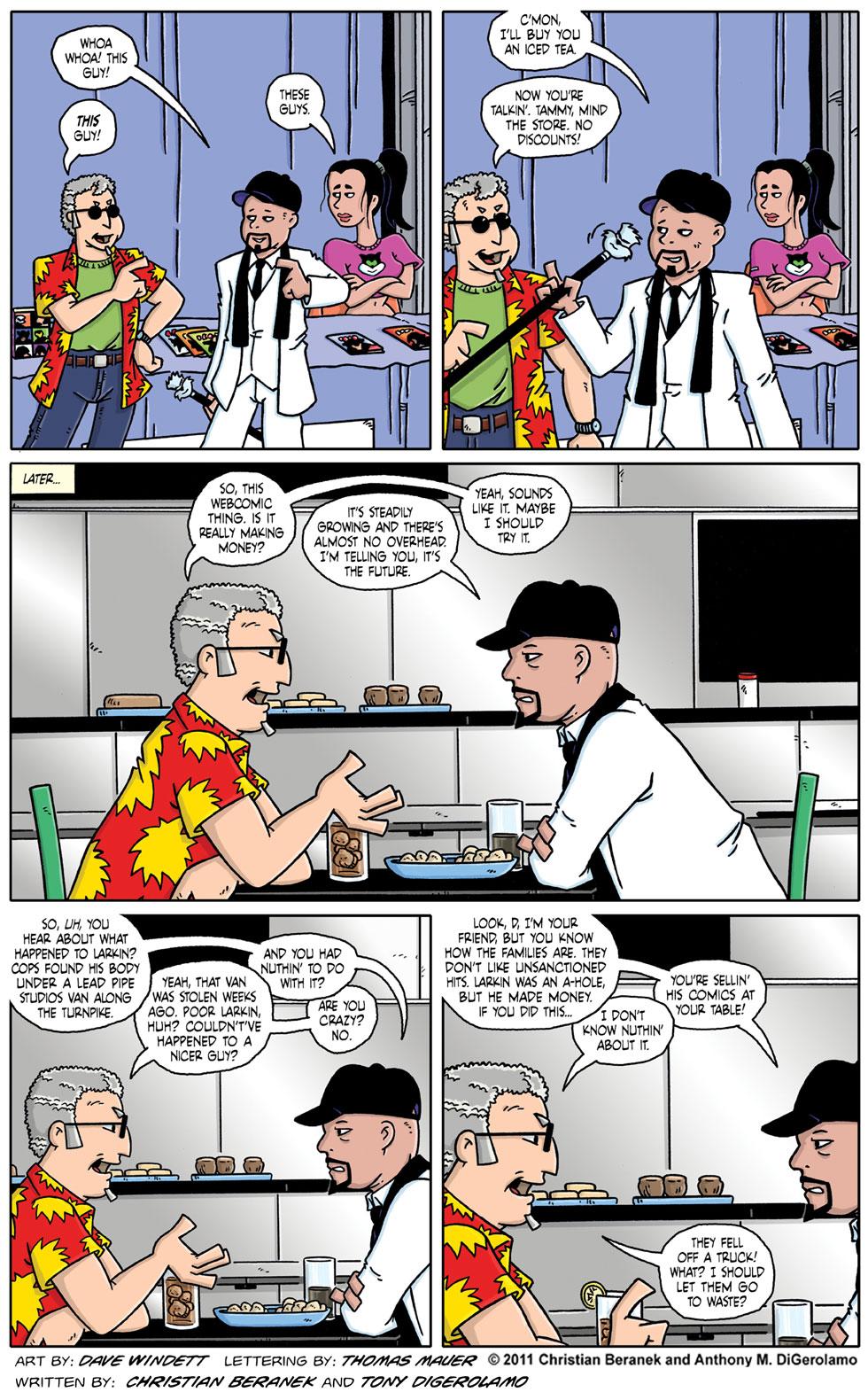 Comic Book Mafia #57:  The Sit Down