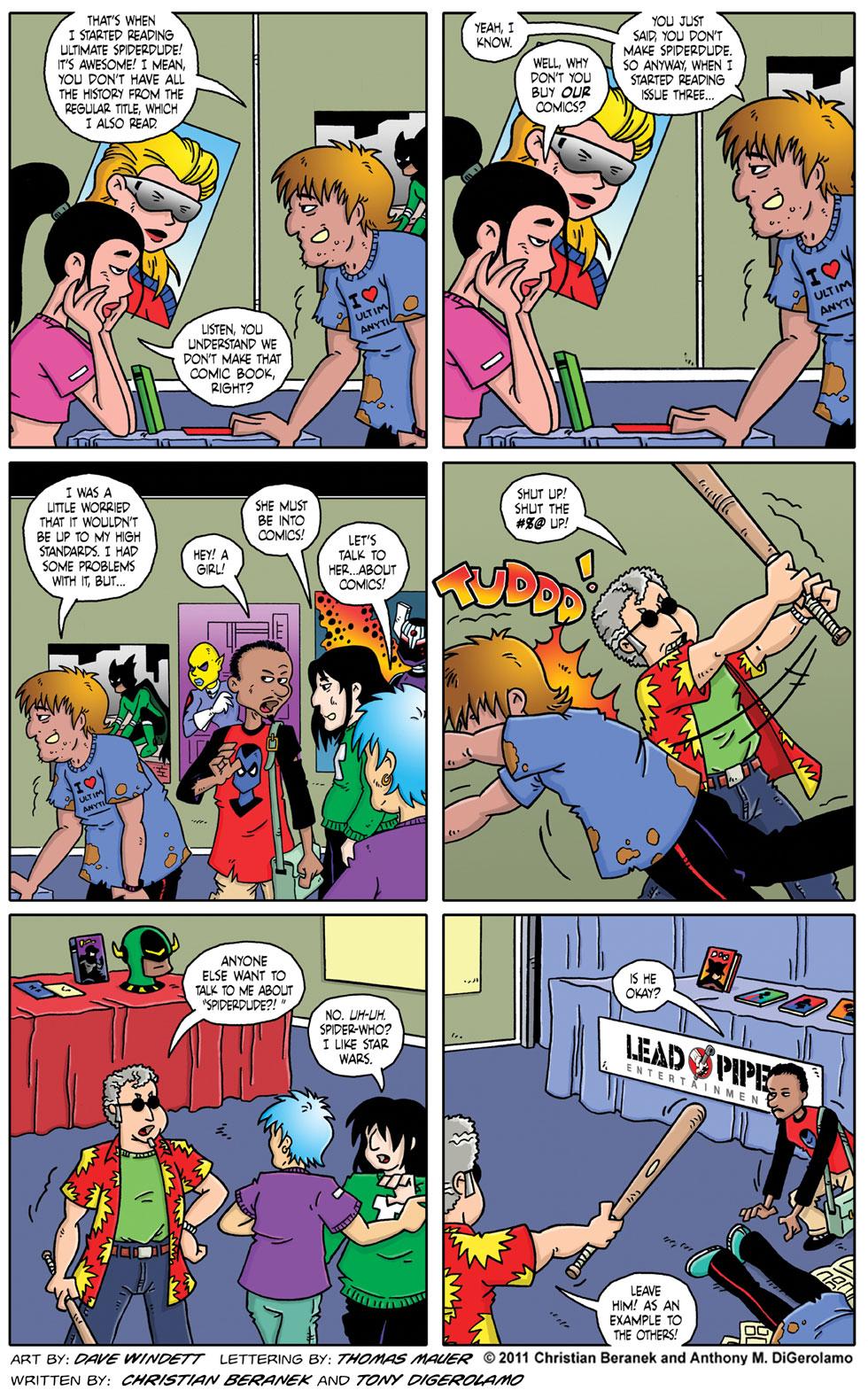 Comic Book Mafia #59:  Fanboy Justice