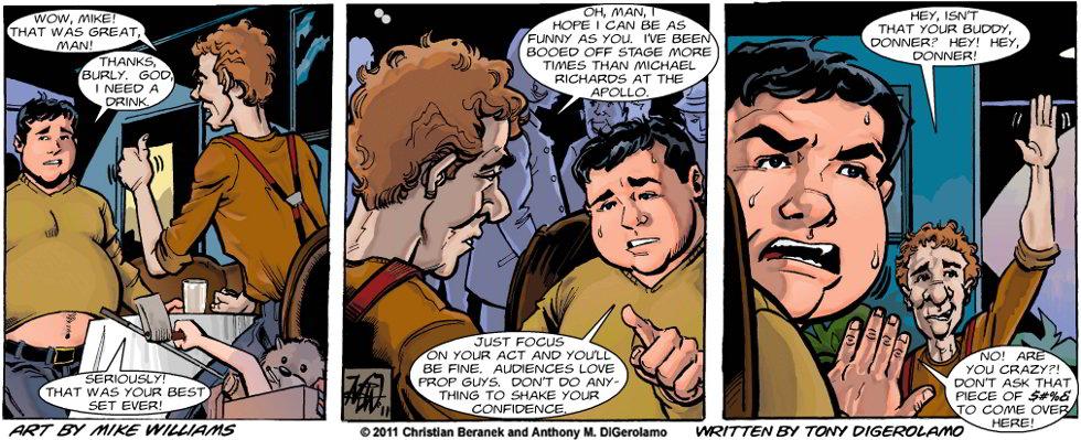 Miserable Comedians #34:  The Prop Comic
