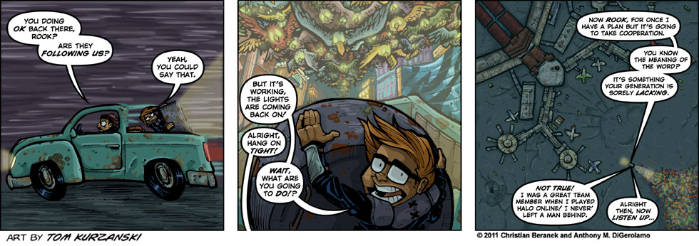 Post Apocalyptic Nick #46:  Cooperation