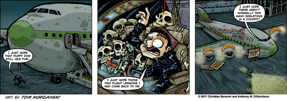 Post Apocalyptic Nick #48:  Just Hoping