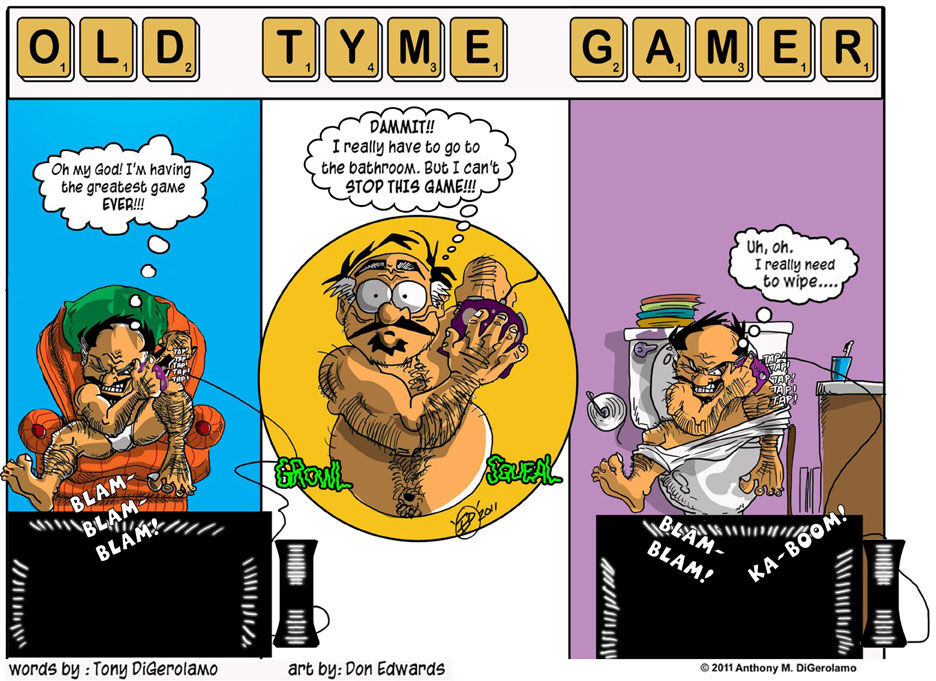 Olde Tyme Gamer:  A Great But Smelly Game