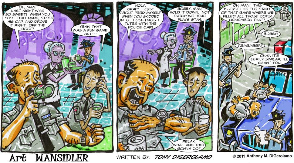 Olde Tyme Gamer #7: Delete the Police