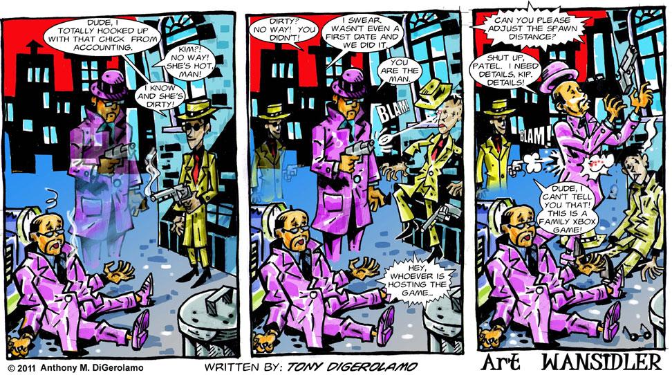 Olde Tyme Gamer #8:  Multi-task Murderer