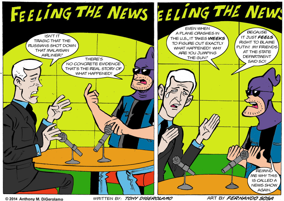 Tony Destructo:  Feeling the News Update