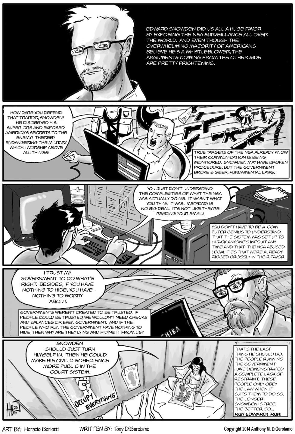 The Antiwar Comic:  Run, Edward!  Run!